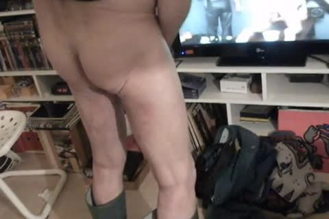 nlboots - changing raiment meanwhile jerking off and cumming...