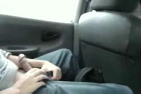 stroking In Taxi