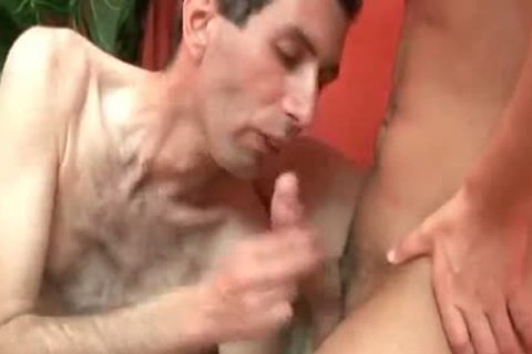 smutty brunette hair twink acquires anal banged And Facialized
