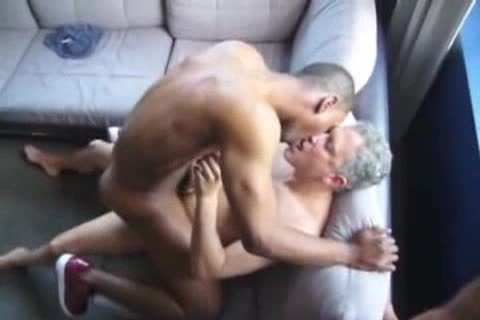 dark homo boy plowed By Two Ultimate whores