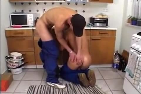 sexy Ramming In The Kitchen After Work