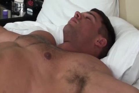 stylish Muscle dude fastened And Tickled - Derek Atlas