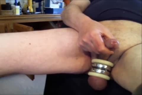 """Doing Some Sounding With Three Different dildos.  First The 10MM Sound, And Then The 11MM Sound, And lastly The Urethral fake penis.  Listen For The """"chattering"""" Noises As I Probe Into My Urethra.  Ends Up With A Powerful sex cream flow!!"""