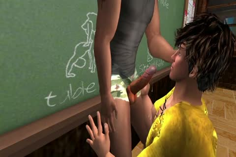Last Time The Student tempted The Teacher And Was nailed By Him. Now It Is His Turn To Take The Teacher.