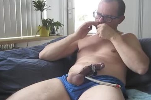 Pissing, Sounding And Estim In My Very old Vintage Cotton Blue Adidas Short. I Was Masturbating For Hours, And Made This Vid Out Of It. Over An Hour Of Masturbating.