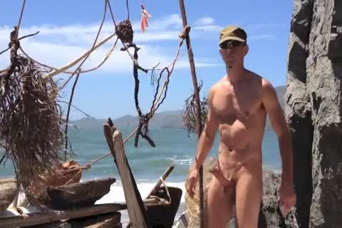 hammering And stroking And Squirting At The undressed Beach