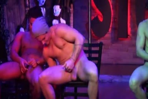 Stockbar Presents The jerk off Contest With three Of Our Dancers Competing.