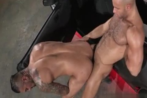 naughty allies butthole Accident
