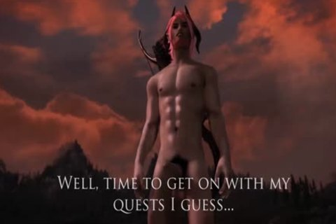 A Serious Social Commentary On What It Is Like Playing A Sex Modded Skyrim