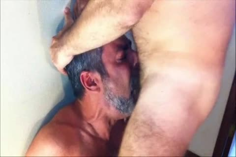 One Of The superlatively worthwhile rod-suckers From Brasil In A hardcore Facefucking Action.