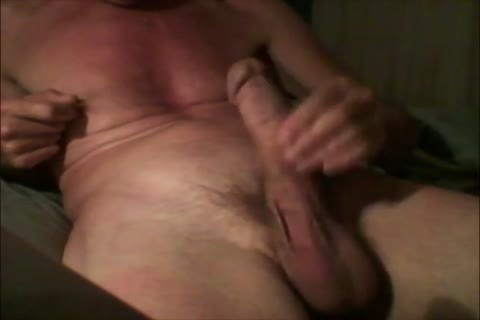 I Masturbate And engulf My unyielding cock Until I cum In My face hole And swallow My cum