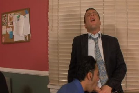 awesome homosexual fucking buttholes In The Office