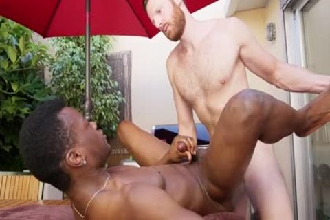 Tim And Hector Share An Interracial pound