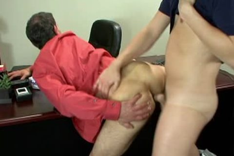 yummy Office homo guys plowing Hard At Work