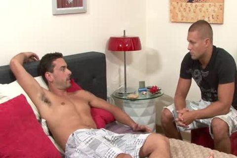 nice-looking homosexual acquires Anally Nailed And Cummed