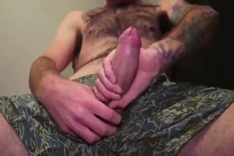 appealing Beard Hipster Jerkoff And Eat His Own cum