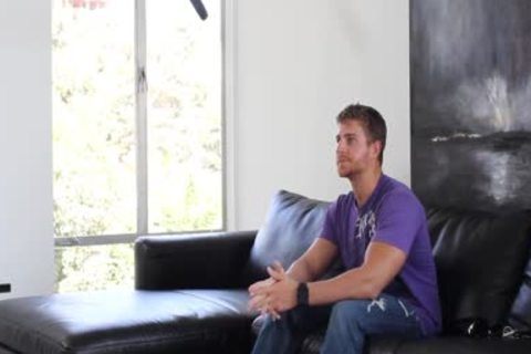 HD GayCastings - built Texas lad nailed On Casting sofa