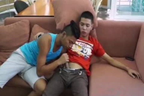 Pinoy biggest 10-Pounder Arjo And Josh,, have a joy Pinoy M2M pound, engulf, And wazoo butthole drilling
