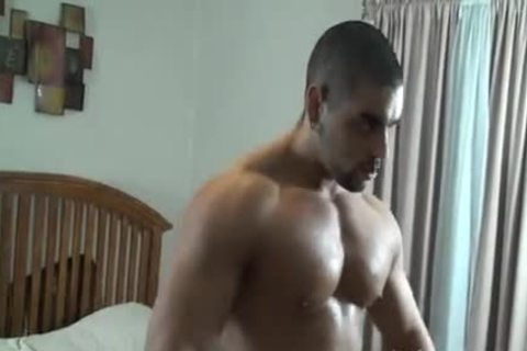 powerful Muscle Hunk bound And Tickled - Angelo Antonio