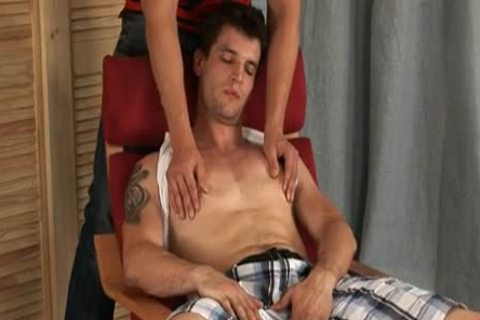 Petr Morava receives anal Toyed