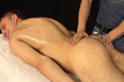 Jason Lucius receives Oily cook jerking