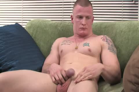 Tattooed boyfrend acquires in nature's garb And Shows Off His Hard penis