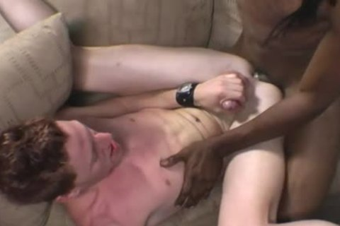 Gene Hawk Enjoys His First Time With A darksome lad