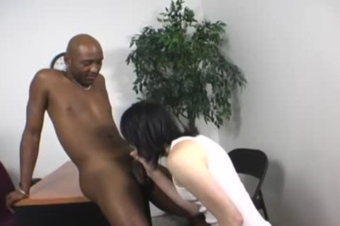 humongous darksome lad drills His taut White wazoo