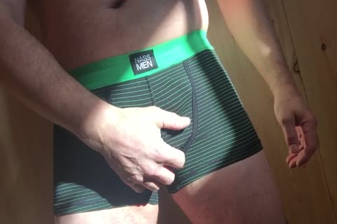 Precum And sperm In The Sunshine