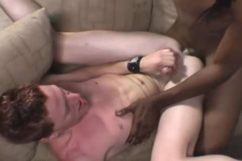 Gene Hawk Takes black penis For The First Time