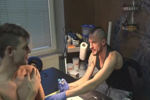 nasty Sex For specie In A Tattoo Studio