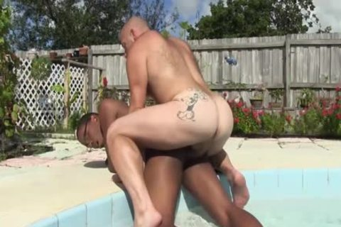 Daddy Sailor Blue raw pokes Donny Ray