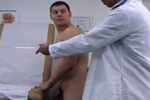 College boy disrobes For His Doctors fantasy That Comes To Life