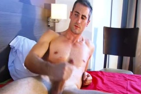 My Neighbour Made A Porn: Watch His massive weenie gets Wanked!