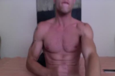 Justin Matthews Has A ejaculate Fest On His Six-Pack Abs
