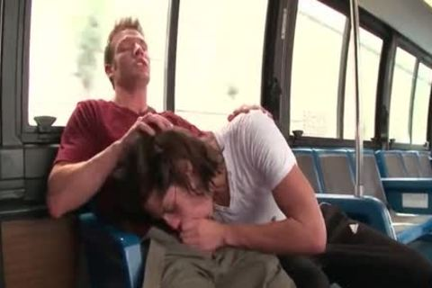pounding On A Bus