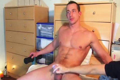 My Straight Neighbour Made A Porn: Watch Him receives Wanked By A boy.
