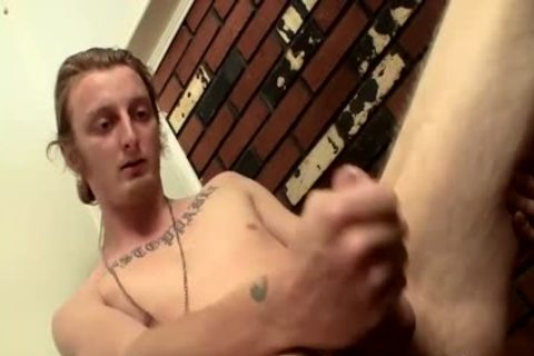 lengthy Hair chap Billy Jerks His Hard dick In Front Of Camera