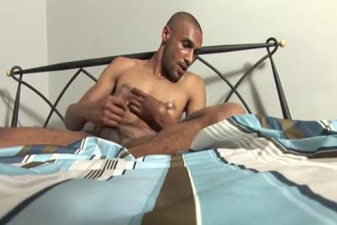 Bald dude loves To Show Off His Hard dick On webcam
