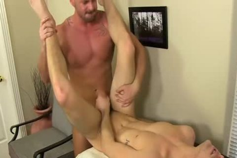slutty Boss Mitch Vaughn pokes Dustin Fitch In His arsehole