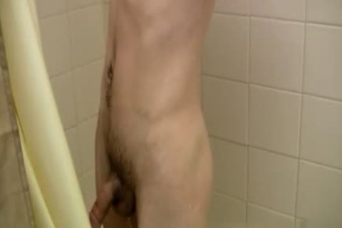 Brother gay Sex Tgp First Time one time The Shower Is Over, this guy