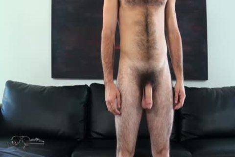 HD GayCastings - Josh bushy arsehole Is nailed By The Casting Agent