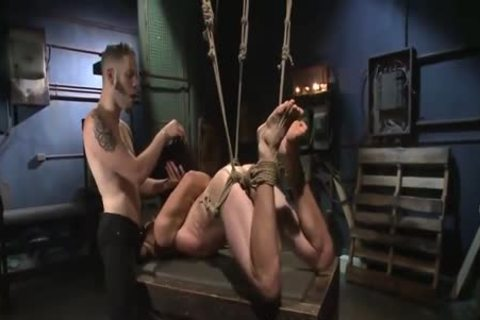 nice-looking Cop bound & Tormented