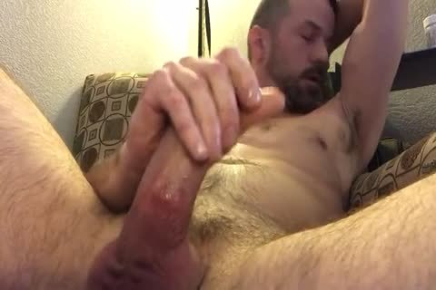 wonderful Closeup Of Me Playing With My Pierced dong