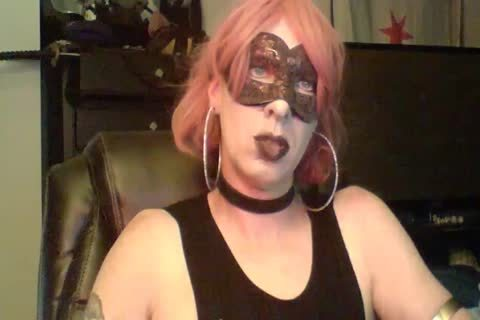 charming Dancing Goth CD web camera Show (part 2 Of 2)