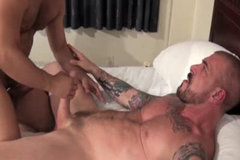 Rocco Steele Has A unprotected butthole plowing