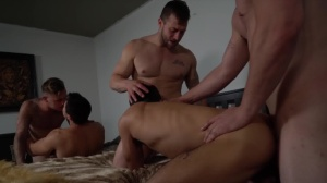Pass The Bottom - Brian Michaels with Axel Kane ass Hook up