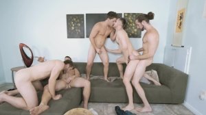 My floozy Of A Roommate - Colby Keller and Jacob Peterson hooker Nail
