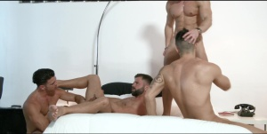 The Weekend Away - Paddy O'Brian and Hector De Silva anal poke