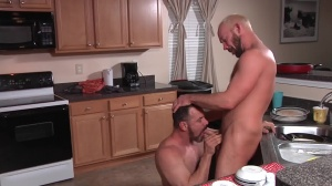 The Straight man - Mike Tanner with Max Sargent butthole poke
